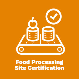 Food Processing Site Cert
